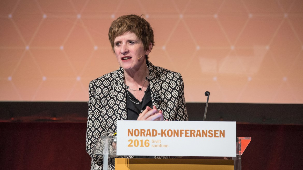 Kate Gilmore Deputy High Commissioner for Human Rights of the United Nations – The Norad Conference 2016