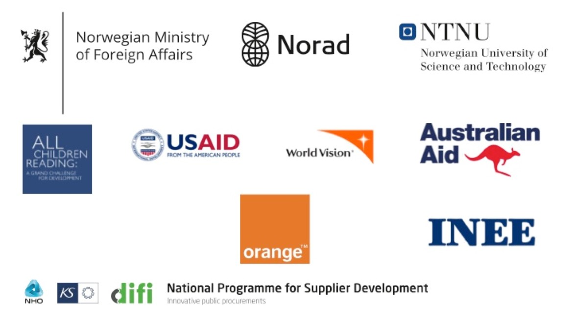 Logos of the EduApp4Syria partners